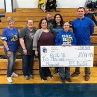 BGS Booster Club Donates $10,000