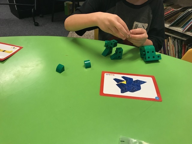 Creating a frog and discussing habitat.