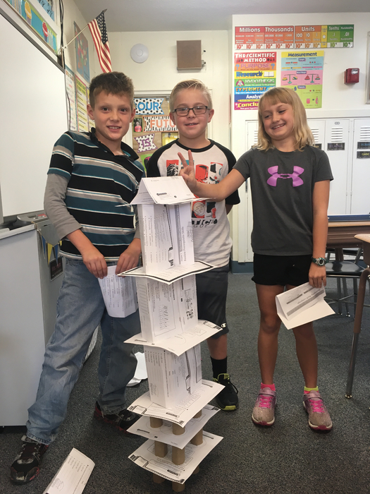 STEM Activity - Paper Tower