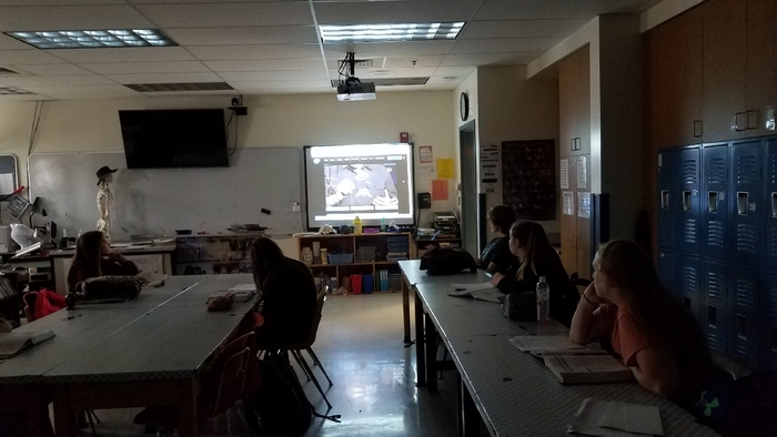 Earth Science 6 watching NASA live on Insight Mars lander