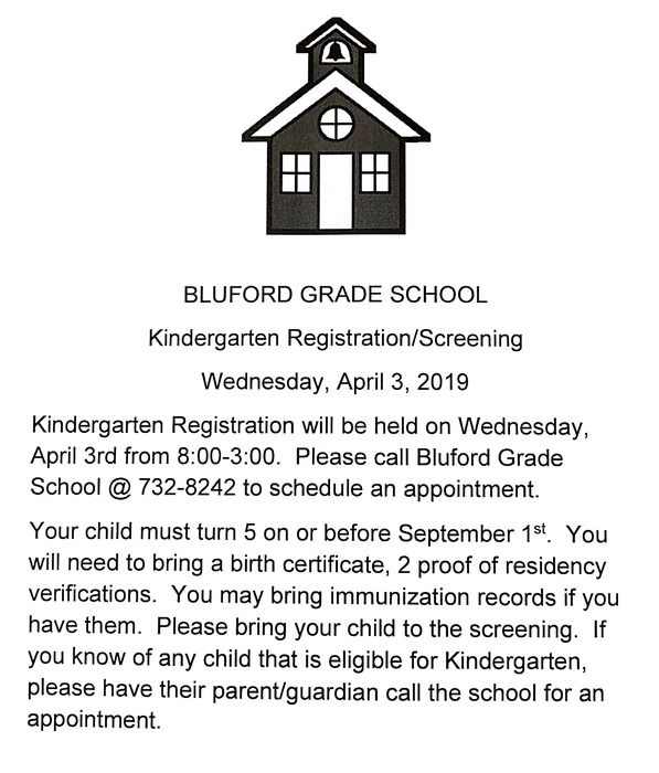 Kg Registration Flyer